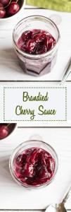 Brandied Cherry Sauce