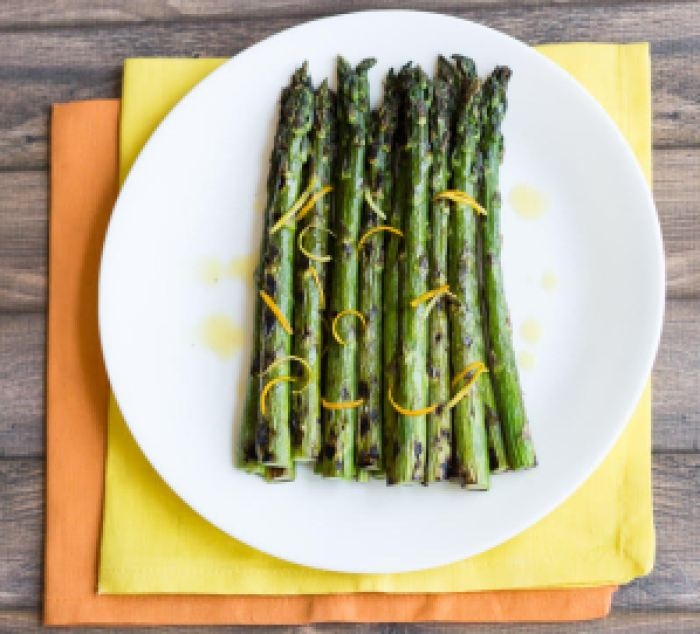 Grilled Asparagus with Citrus Vinaigrette