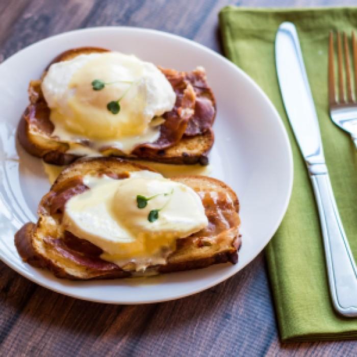 Proscuitto Eggs Benedict