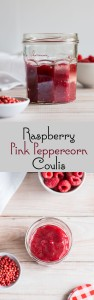 Raspberry Pink Peppercorn Coulis