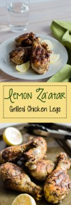Lemon Za'atar Grilled Chicken Legs