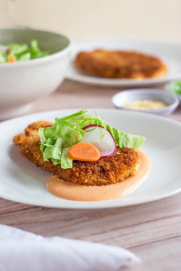 Togarashi Chicken Cutlet