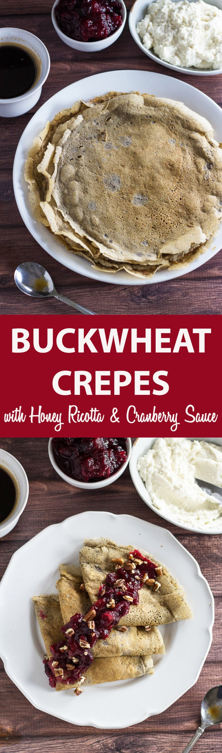 buckwheat crepes with cranberry sauce, for pinterest 2 final