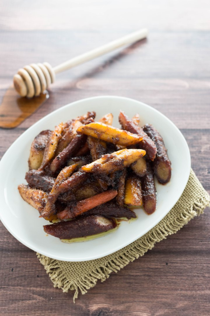 Honey-Ginger Glazed Carrots with Brown Butter