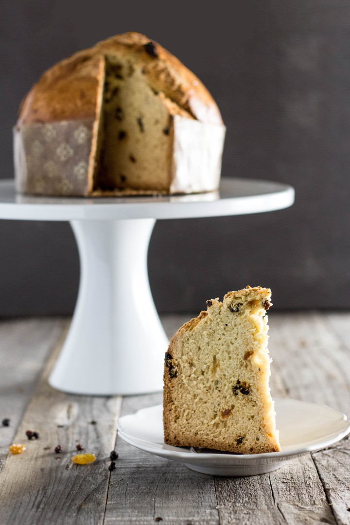 Quick Panettone (no yeast)- a fast, easy version of Italian Christmas Bread