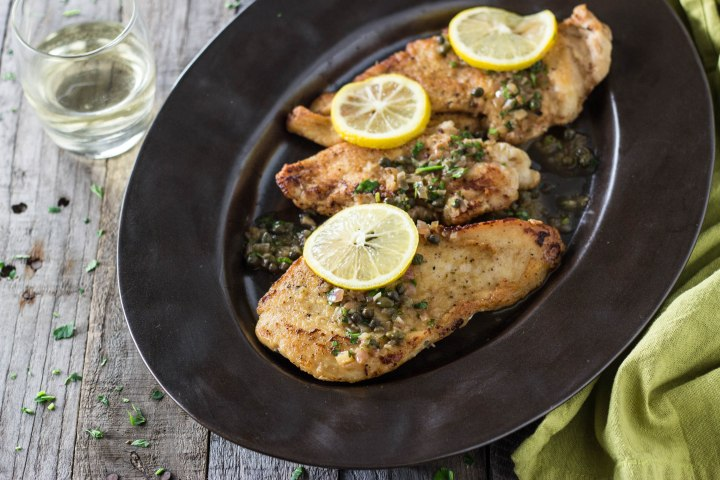 Classic Chicken Piccata