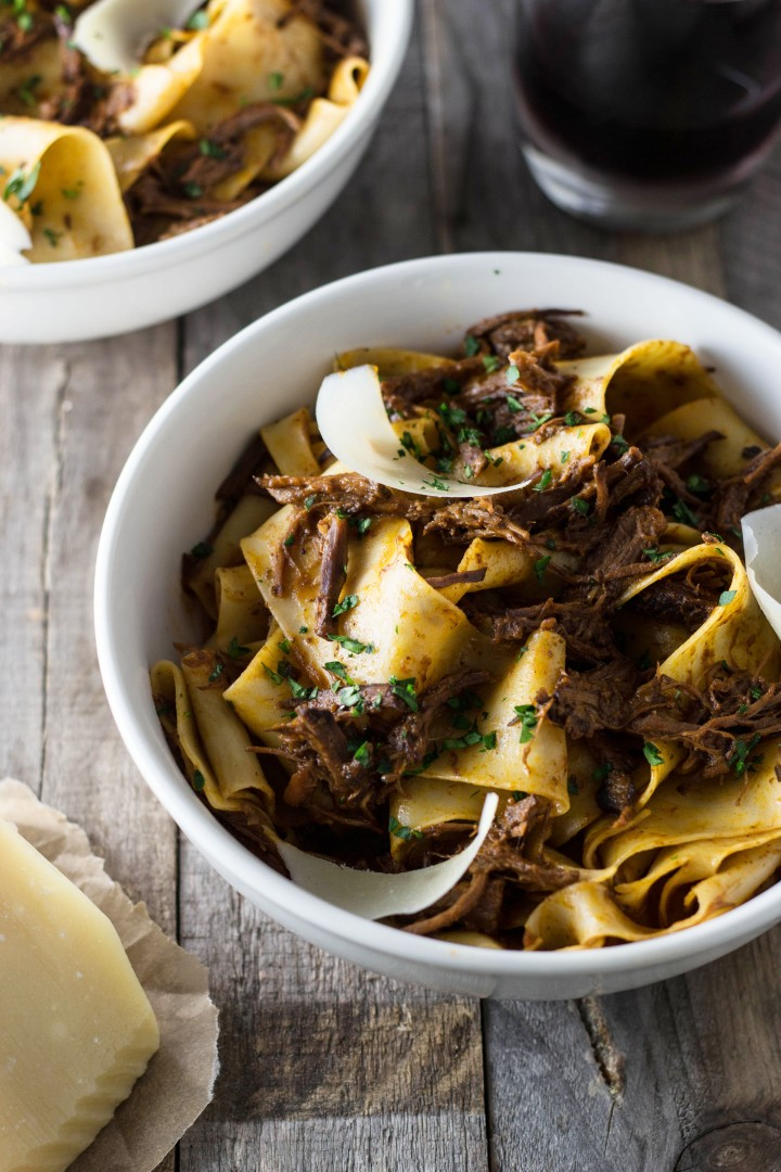 Pappardelle with Short Rib Ragu